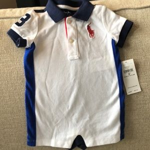 One piece Polo 3mth w/ tags never worn